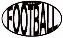 Mini football 40 x 40 pack of 10